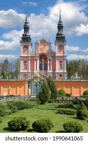 Aussicht auf die berühmte Swieta Lipka Kirche, Warmia-Masuria, Polen