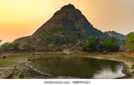 View of Famous Tourists Place of West Bengal, India, The Joychandi Pahar.
