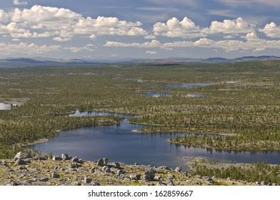 View at Femundsmarka National Park, Norway