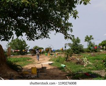 View of the fields in Burkina Faso