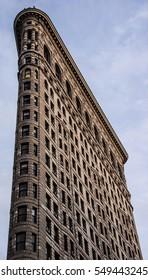 View of Flatiron Building, NYC