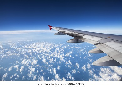 View from the flight. A close enough view of the sky more than thousand meter from sea level. A must see view when traveling.