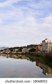 View of florence along the Arno River