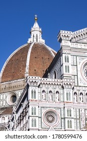 View of florence dome square
