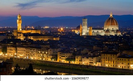 View of Florence from Piazzale Michelangelo, Florence, Tuscany, Italy
