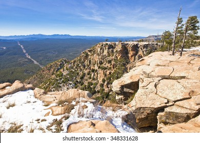 A view of the forest from the Mogollon Rim