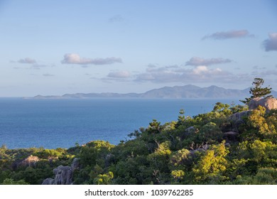 view from Fort Complex on Magnetic Island, Australia