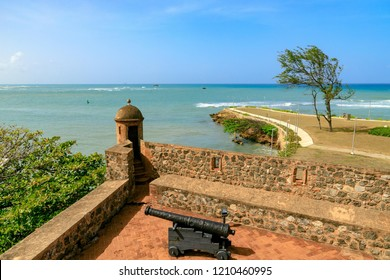 View from Fortaleza San Felipe over the sea, Puerto Plata, Dominican Republic