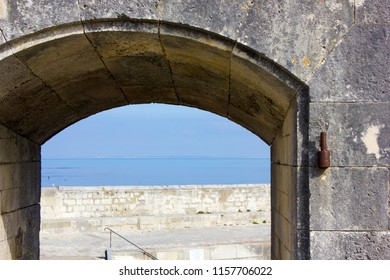 View in the Fortress of Vauban, France