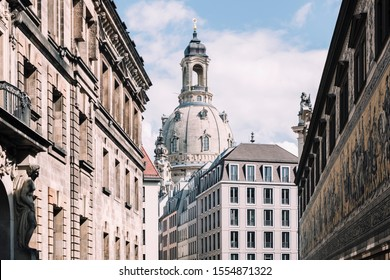 View of the Frauenkirche Dresden, Germany