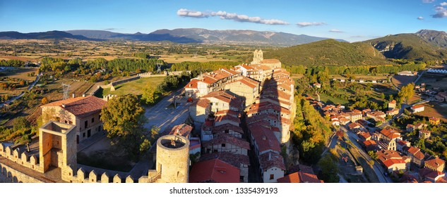 View of Frias from the castle, Burgos, Spain