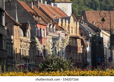 View froma medieval cityin Transylvania