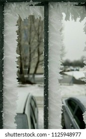 View from the frost window