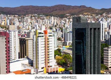 View of the Funcionarios neighborhood. Belo Horizonte, Minas Gerais, Brazil. September 2016