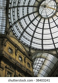 view of the Gallery in Milan