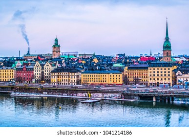 View of Galma Stan. Stockholm, Sweden.