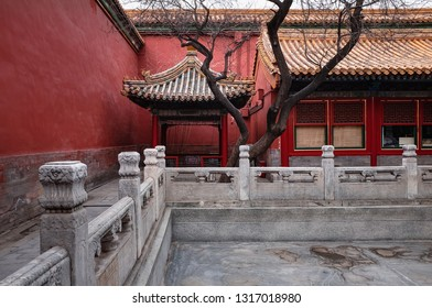 View of Garden in Forbidden City - China