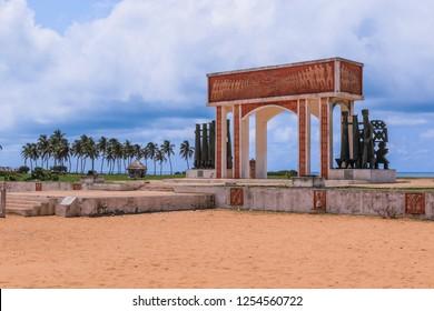 View to the Gate of No Return, Ouidah, Benin