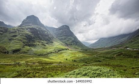 View of Glencoe, Scotland