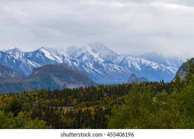 A View from the Glenn Highway, Alaska