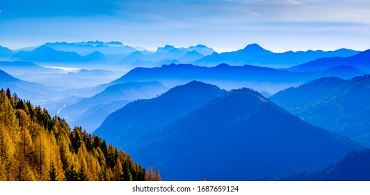 view from the goldeck mountain in austria - photo