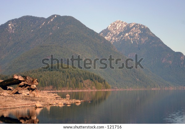 A view in Golden Ears Park