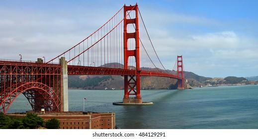 A view of Golden Gate Bridge