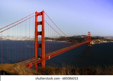 view golden gate Bridge San Francisco