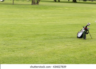 View of the golf equipment at the golf course