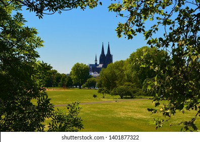 view of the gothic Cologne cathedral