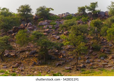 view Govardhan Hill in India
