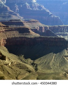 View at the Grand Canyon South Rim