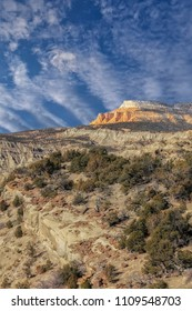 View of Grand Staircase Escalante national monument Utah.