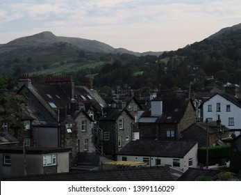 View of Grasmere, Rydal, Ambleside, England Lake District.