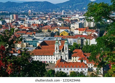 View Of Graz City Center - Graz, Styria, Austria, Europe