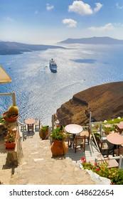 View of greek Islands