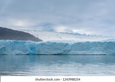 View of Grey Glacier at Torres del Paine National Park in Chile