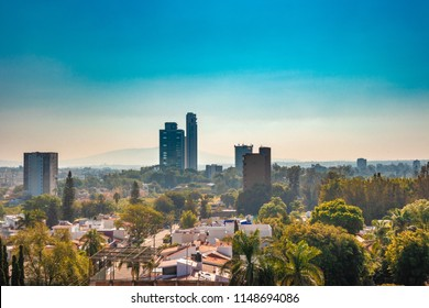 View of Guadalajara, Jalisco, Mexico on a sunny day.