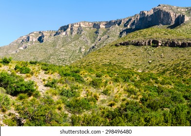 View of Guadalupe Mountains National Park
