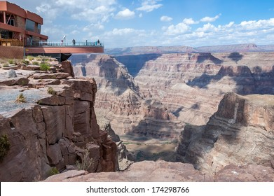 The view from Guano Point on the Grand Canyon West Rim