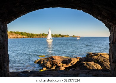 View of the Gulf of Finland from Suomenlinna fortress - Helsinki