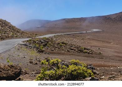 view of Haleakala, Maui, Hawaii