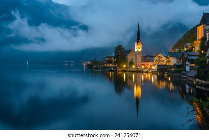 View of Hallstat village , Austria