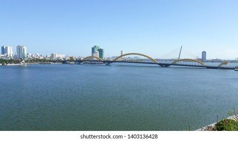View of Han River in Da Nang ,Vietnam.