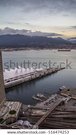 View from Harbour Centre