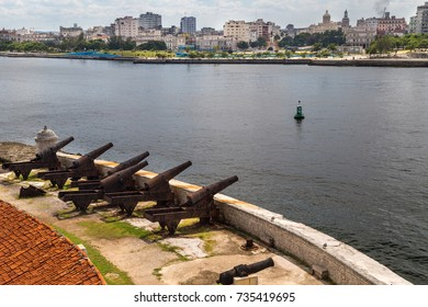 View to Havana from El Morro fort