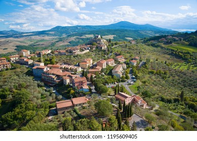 A view from the height of the town