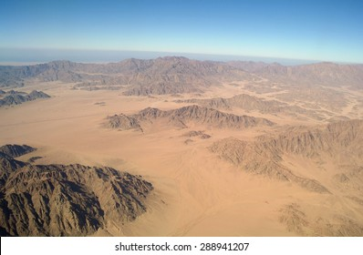 The view from the heights on the Sinai