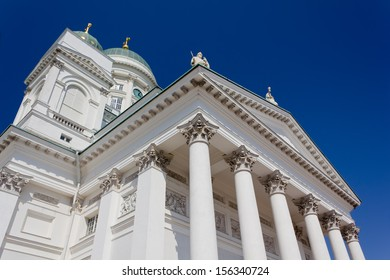View of Helsinki Cathedral, Finland