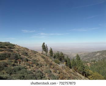 View of the high desert from the Pacific Crest Trail, California